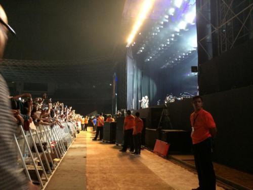 Frontstage at Bon Jovi Live Jakarta